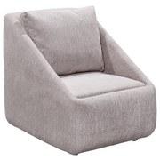 Sessel Jule B: 70 cm Beige-Blau - Blau/Beige, Basics, Holzwerkstoff/Textil (70/80/84cm)