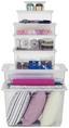 Box mit Deckel Bea, 1,7 Liter - Transparent, KONVENTIONELL, Kunststoff (19,5/16,5/8,5cm) - Homezone