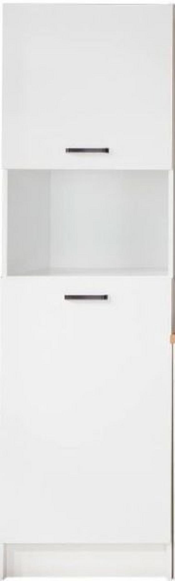Geräteumbauschrank Prag - Weiß, KONVENTIONELL, Holzwerkstoff (60/200/60cm)