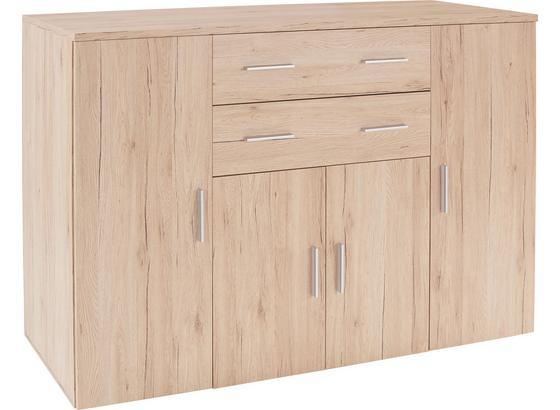 kommode trio typ 03 b 152cm san remo eiche hell dekor. Black Bedroom Furniture Sets. Home Design Ideas