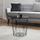 Odkládací Stolek Josie - černá, Moderní, kov/dřevo (40/41cm) - Modern Living
