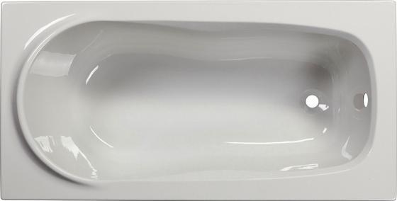 Badewanne Alba - Weiß, KONVENTIONELL, Kunststoff (140/70/44cm)