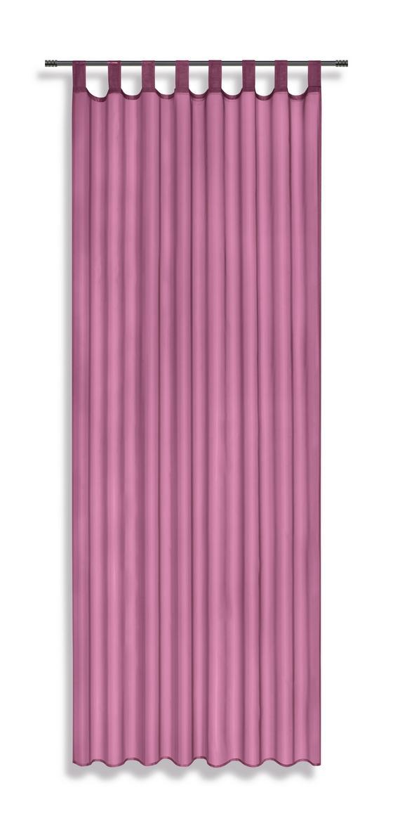 Kombivorhang Utila *ph* - Altrosa, KONVENTIONELL, Textil (140/245cm) - Ombra