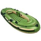 Schlauchboot Hydro Force für 3p 348x141x51cm 65001 - Grün, MODERN, Kunststoff (348/141/51cm) - Bestway