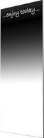 Fali Tükör Motto 12045 - Fehér, modern, Üveg (45/120cm)