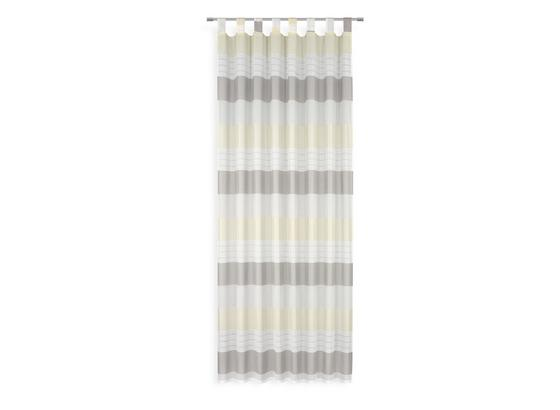 Kombivorhang Roswita - Gelb, MODERN, Textil (140/255cm) - Luca Bessoni