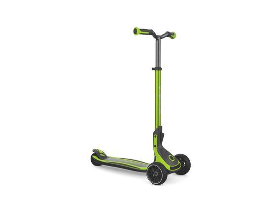 Scooter Globber Ultimum L: 63 cm - Dunkelgrau/Schwarz, Basics, Kunststoff/Metall (63/39,5/76-101cm)