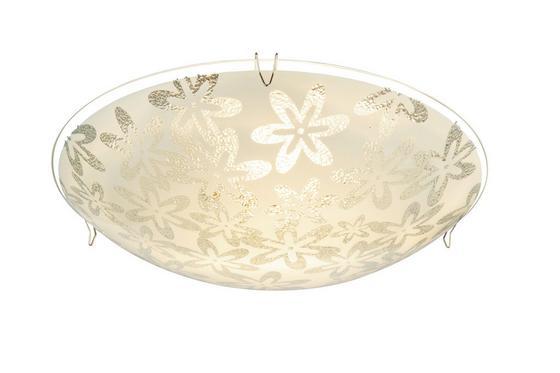 Led Mennyezeti Lámpa Celine - tiszta/fehér, konvencionális, műanyag/üveg (25/8cm) - OMBRA