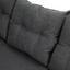 Loungegarnitur Tessin - Grau, MODERN, Kunststoff/Metall (204/255cm) - Greemotion