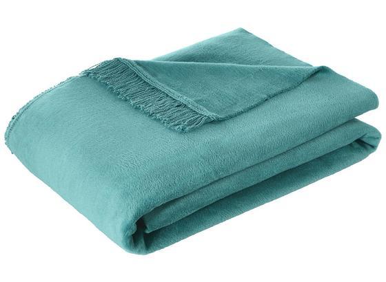 Přikrývka El Sol - modrá, textil (150/200cm) - Mömax modern living
