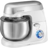 Küchenmaschine Km 3709 - Weiß, MODERN, Kunststoff/Metall (36,6/29,9/21,5cm) - Clatronic