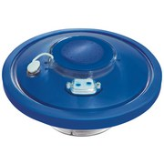 Wasserfontäne Flowclear mit Abschaltautomatik Ø19cm 58493 - Blau, MODERN, Kunststoff (18,9cm) - Bestway