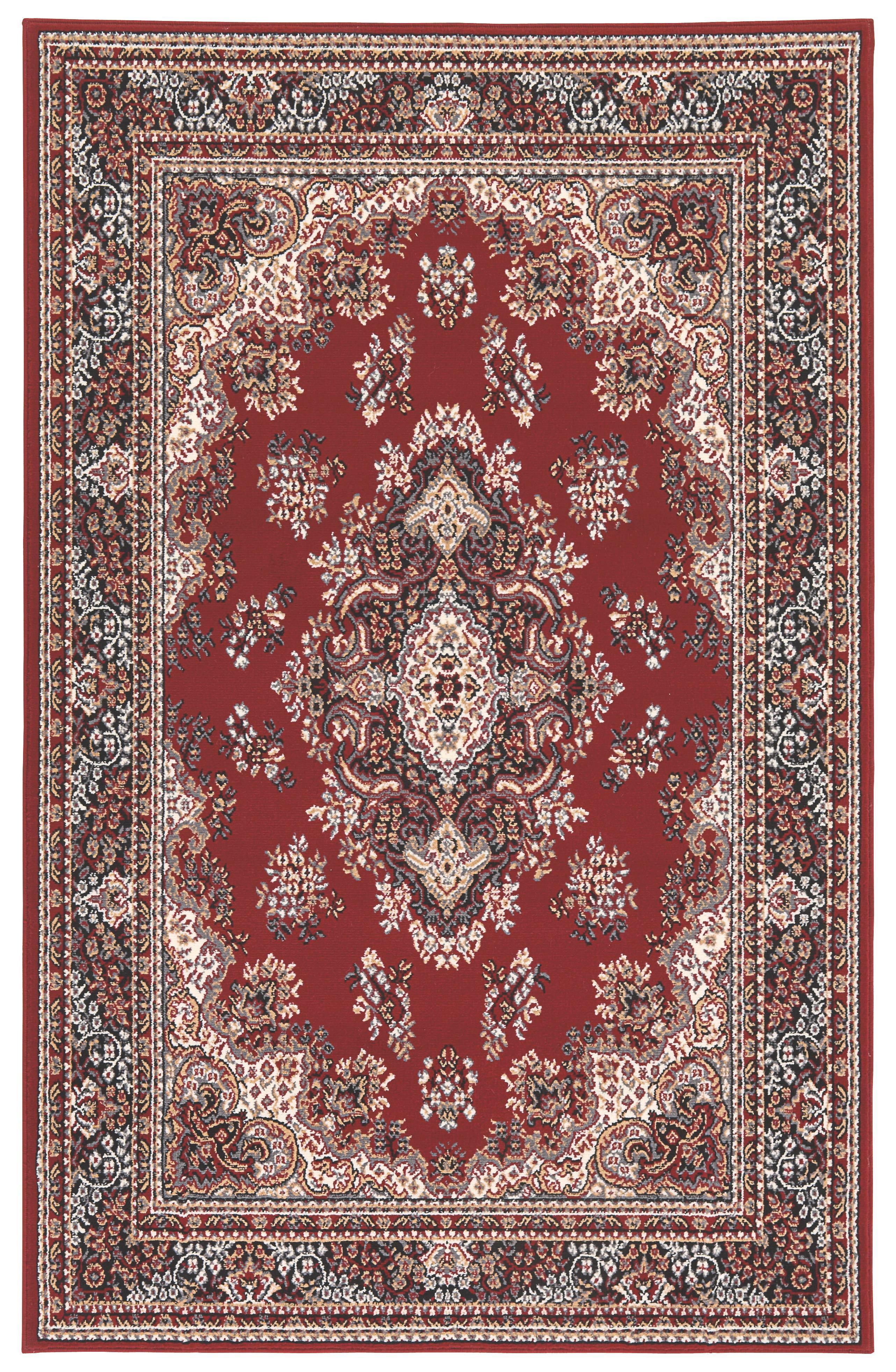 Szőnyeg Pierre - piros, konvencionális, textil (60/110cm)