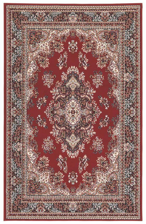 Webteppich Pierre 100x160 cm - Rot, KONVENTIONELL, Textil (100/160cm)