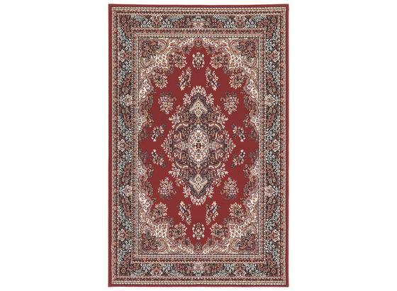 Webteppich Pierre 60x110 cm - Rot, KONVENTIONELL, Textil (60/110cm) - Ombra