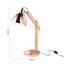 Stolová Lampa Kai - medená, Moderný, kov/drevo (35/18/55cm) - Mömax modern living