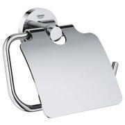 Toilettenpapierhalter Essentials B: 16,7cm - Chromfarben, Basics, Metall (16,7/11,9/4,4cm) - Grohe