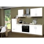 Küchenblock Santorin 270cm Eiche/ Weiß - Eichefarben/Weiß, Basics, Holzwerkstoff (270/60cm)