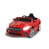 Kinderauto Ride-On Mercedes-Benz SL 400 Rot - Rot/Silberfarben, Basics, Kunststoff (108/63/45cm)