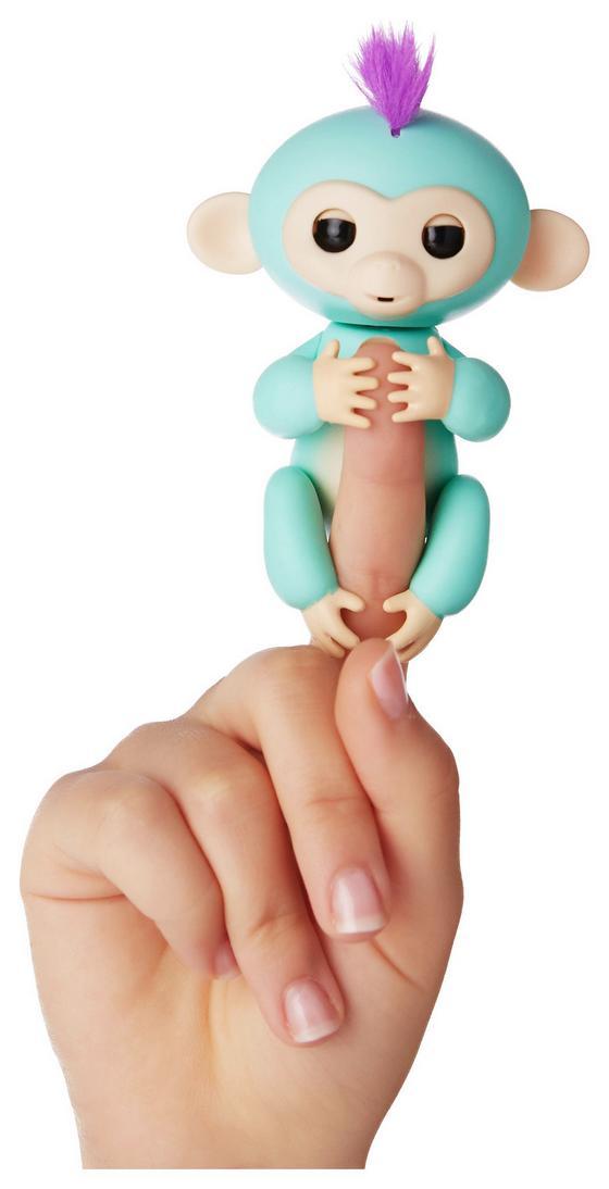 Fingerlings Äffchen Zoe - Grün, Kunststoff (13cm)