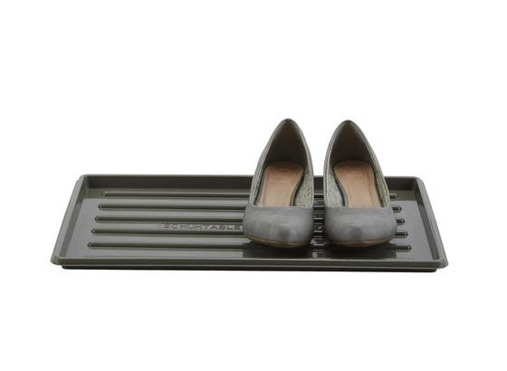 Podložka Na Boty Roger - šedá/černá, umělá hmota (30/45cm) - Mömax modern living