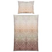 Bettwäsche Mira - Beige/Braun, ROMANTIK / LANDHAUS, Textil - James Wood