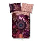 Bettwäsche Aluna - Bordeaux/Multicolor, Basics, Textil