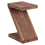 Beistelltisch Mumbai L: ca. 44 cm - Akaziefarben, Design, Holz (44/30/59cm) - Carryhome