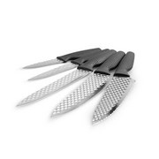 Messerset Harry Blackstone Airblade - Edelstahlfarben, KONVENTIONELL, Metall - Mediashop