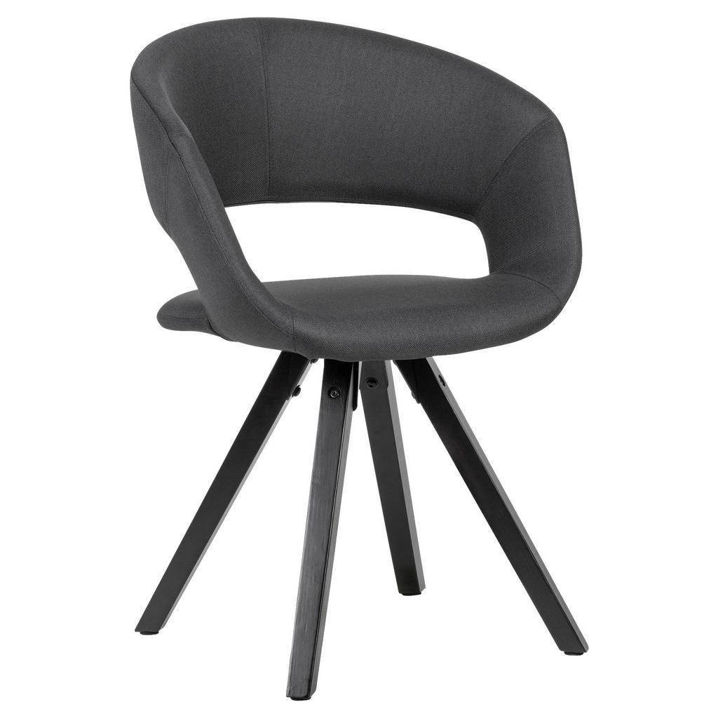 Židle s Opěrkou Armlehnstuhl Černá
