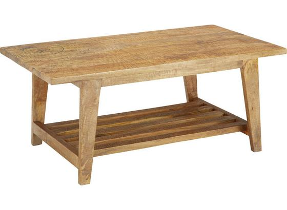 KONFERENČNÝ STOLÍK URBAN - prírodné farby, Štýlový, drevo (110/42/60cm) - Zandiara