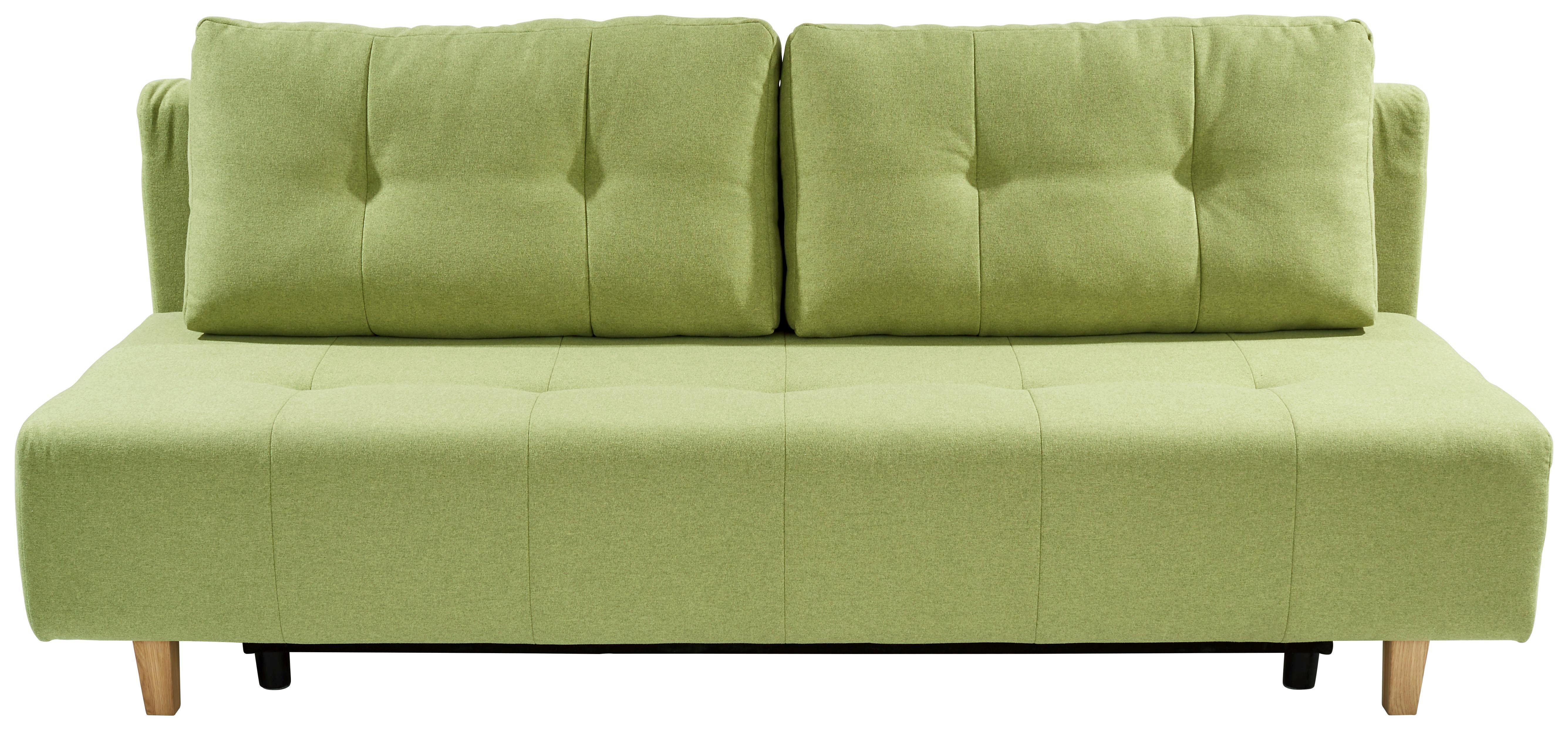 Rozkladacia Pohovka Empoli - zelená, Moderný, textil (202/89/92cm)