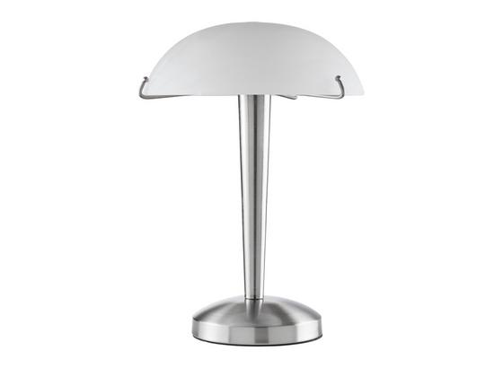 Stolní Svítidlo Vinzenz - bílá/barvy niklu, Konvenční, kov/sklo (22/22/33cm) - Mömax modern living