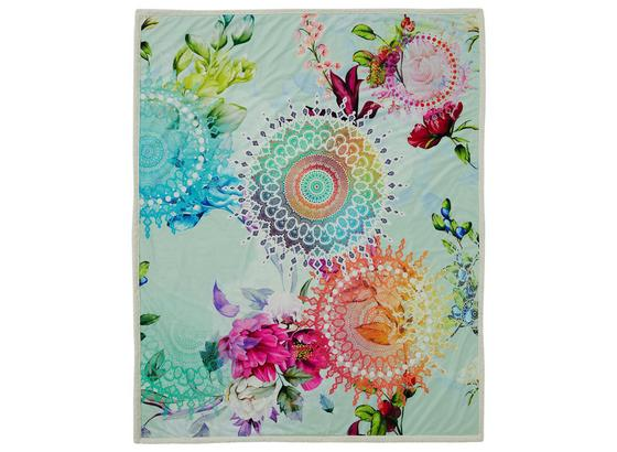 Kuscheldecke Lyliane - Multicolor, Textil (130/160cm)