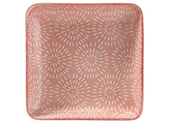Tácka Nina Z Porcelánu - ružová, keramika (12,5cm) - Mömax modern living