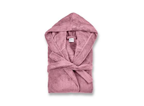 Bademantel Carmen - Rosa, MODERN, Textil (S-XLnull) - Luca Bessoni