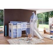 Kinderkissen Blau - Blau, Design, Textil (90/20/30cm)
