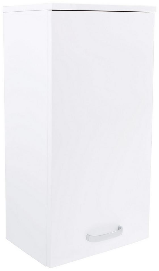 Závěsná Skříňka Tress 1 - bílá, Konvenční, dřevěný materiál (40/70/22cm)