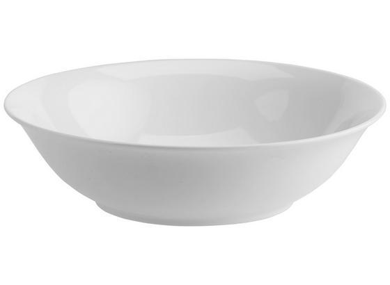 Miska Nancy - biela, Moderný, keramika (23/6,3cm) - Mömax modern living