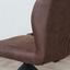 Stuhl-Set Grayson 2-Er Set Braun - Dunkelbraun/Schwarz, LIFESTYLE, Textil/Metall (45/91/49cm) - Livetastic