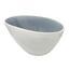 Müslischale Eugenia - Weiß/Grau, KONVENTIONELL, Keramik (15,5/9cm) - James Wood