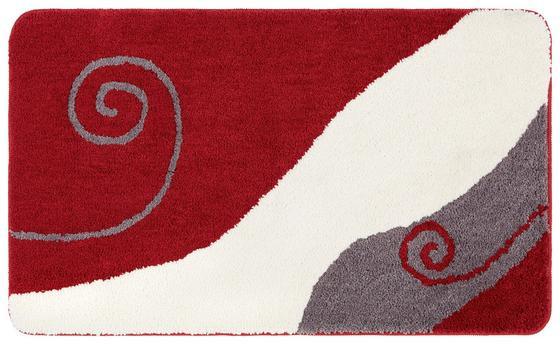 Badematte Rita - Taupe/Blau, ROMANTIK / LANDHAUS, Textil (60/100cm) - James Wood