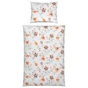 Bettwäsche Flower 140/200cm Terra - Terra cotta, ROMANTIK / LANDHAUS, Textil - James Wood