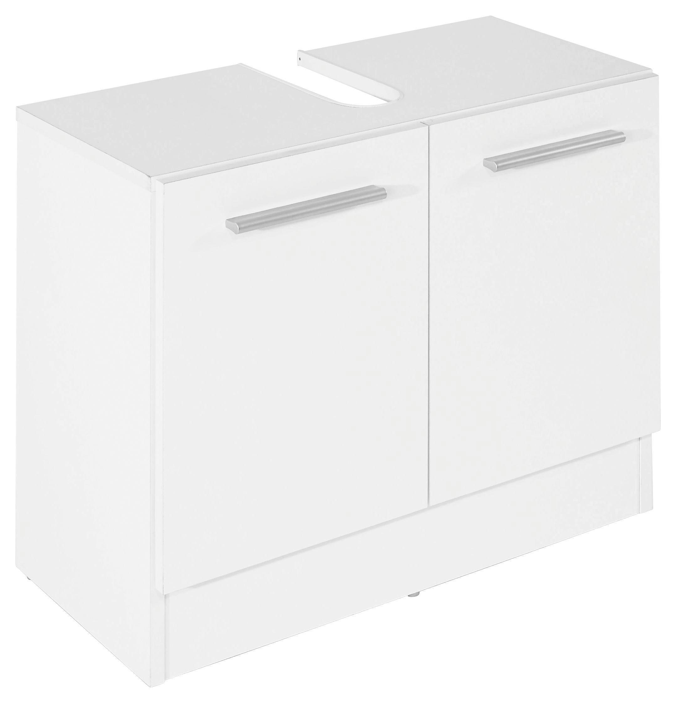 Spodní Skříňka Pod Umyvadlo Koleta - bílá, Konvenční, dřevo (65/54/33cm)