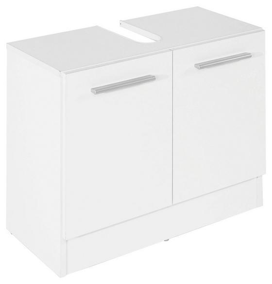 Waschbeckenunterschrank Koleta - Weiß, KONVENTIONELL, Holz (65/54/33cm)