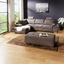 Wohnlandschaft in L-Form Larry 197x306 cm - Silberfarben/Grau, MODERN, Holz/Holzwerkstoff (197/306cm) - Luca Bessoni