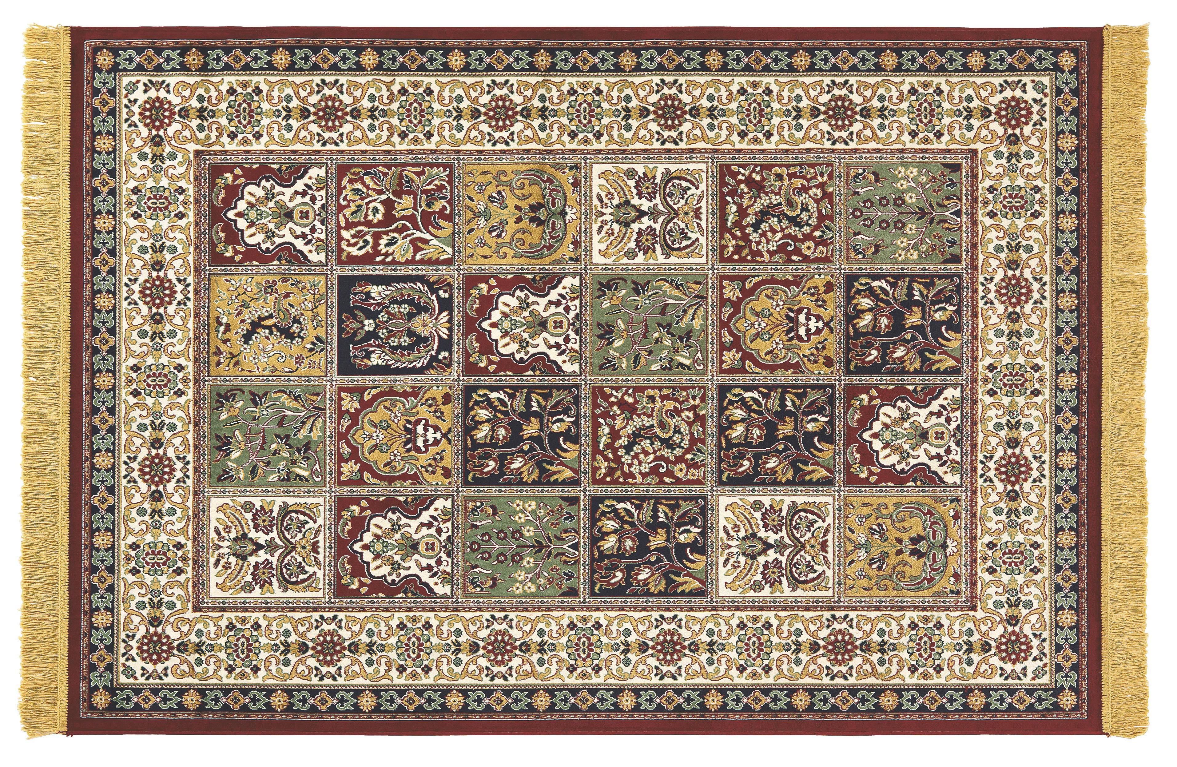 Szőnyeg Isphahan - bézs/barna, konvencionális, textil (160/230cm)