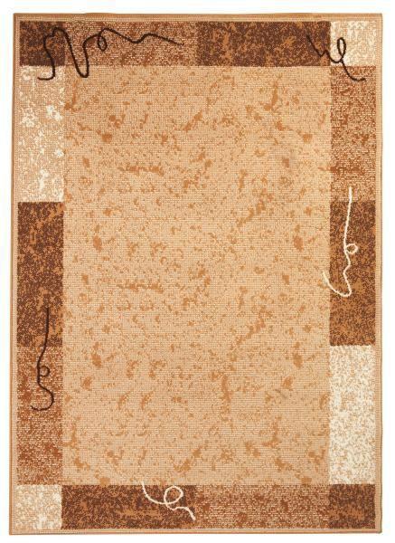 Szőnyeg Kb. 60/110cm - bézs, konvencionális, textil (60/110cm)