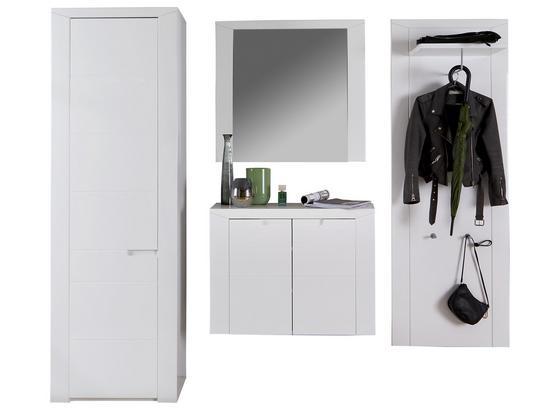 Odporúčaná Kombinácia Skrine Bree 2 - biela, Moderný, kartón/kompozitné drevo (217/203/38cm)