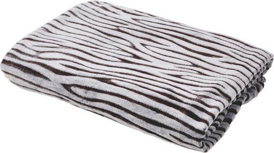 Kuscheldecke Divita 150x200 cm - Braun/Weiß, KONVENTIONELL, Textil (150/200cm) - Luca Bessoni